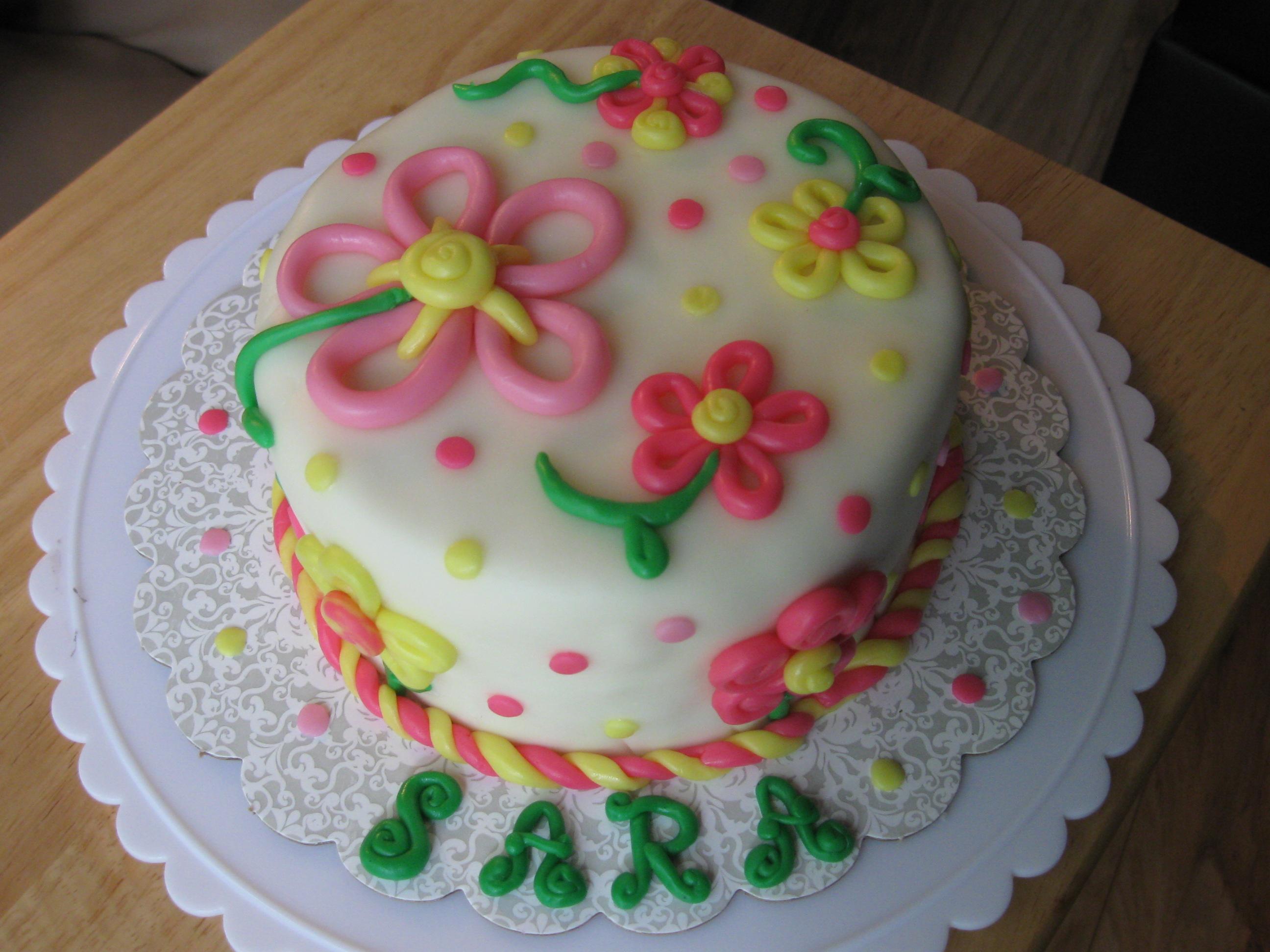 How Make Birthday Cake At Home